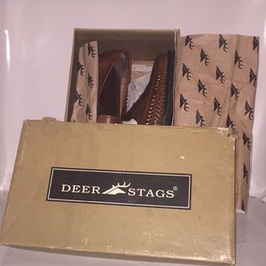 Deer stags loafers